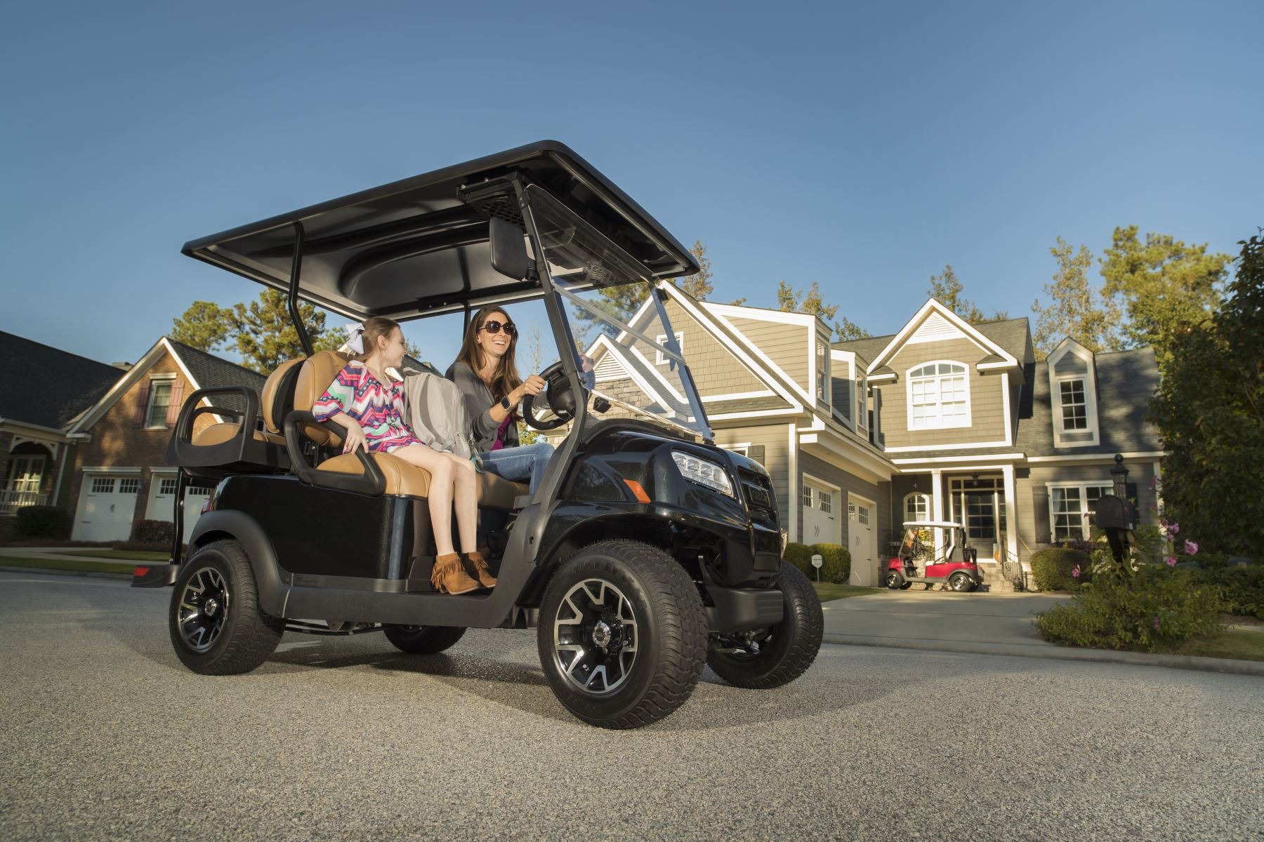 Rent your group a golf cart fleet
