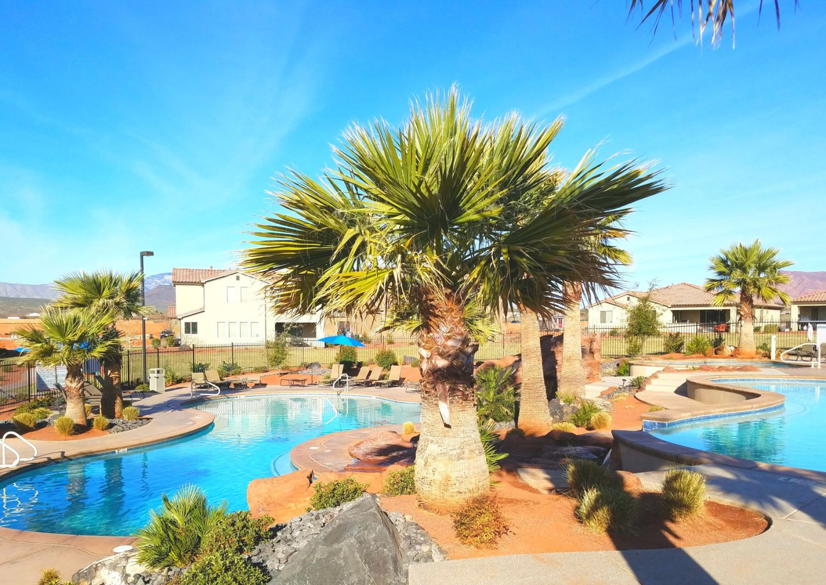 Swimming Pool at Paradise Village at Zion - Utah's Best Vacation Rentals