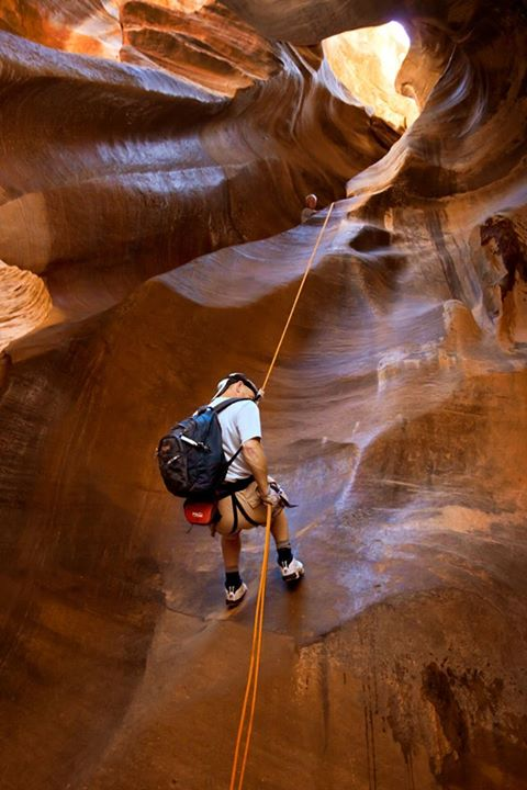 The Narrows Repelling - Zion National Park | Utah's Best Vacation Rentals
