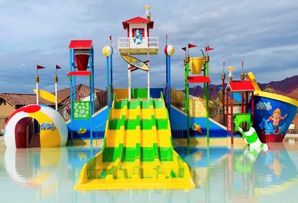 Water park Paradise Village at Zion Santa Clara Utah - Utah's Best Vacation Rentals