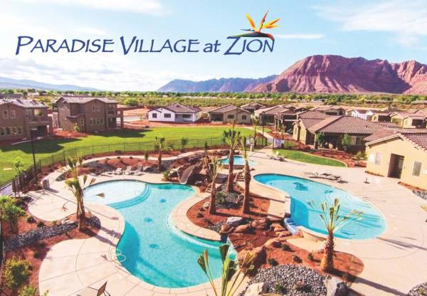 Swimming pool at Paradise Village