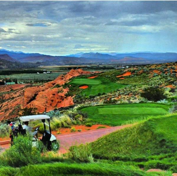 Green and Orange Golf
