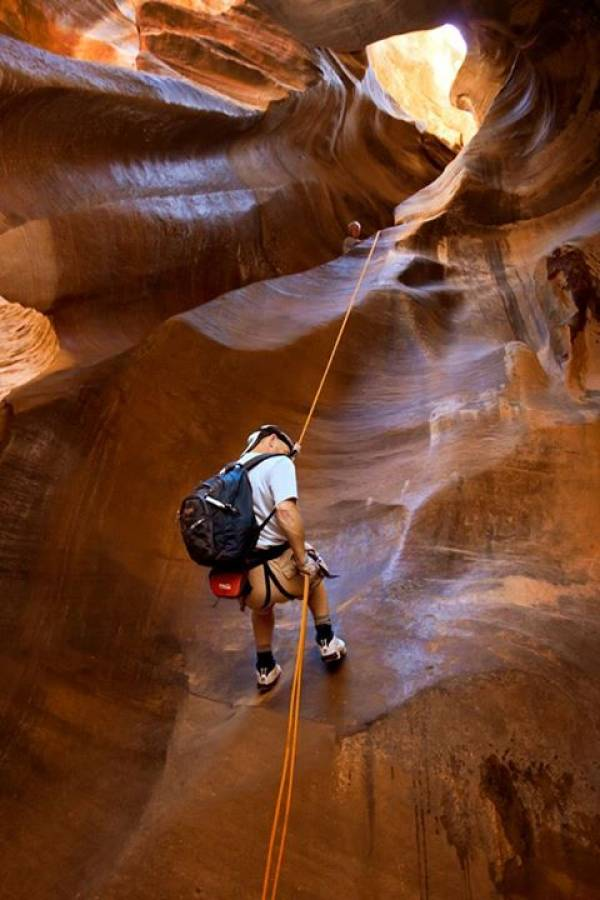 The Narrows Repelling - Zion National Park   Utah's Best Vacation Rentals