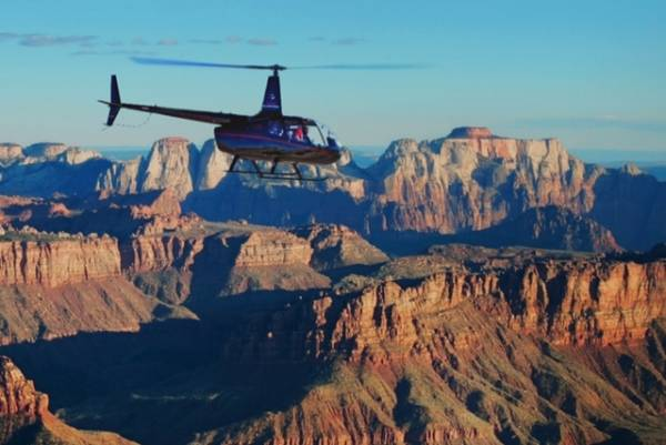 Helicopter tours over Zion
