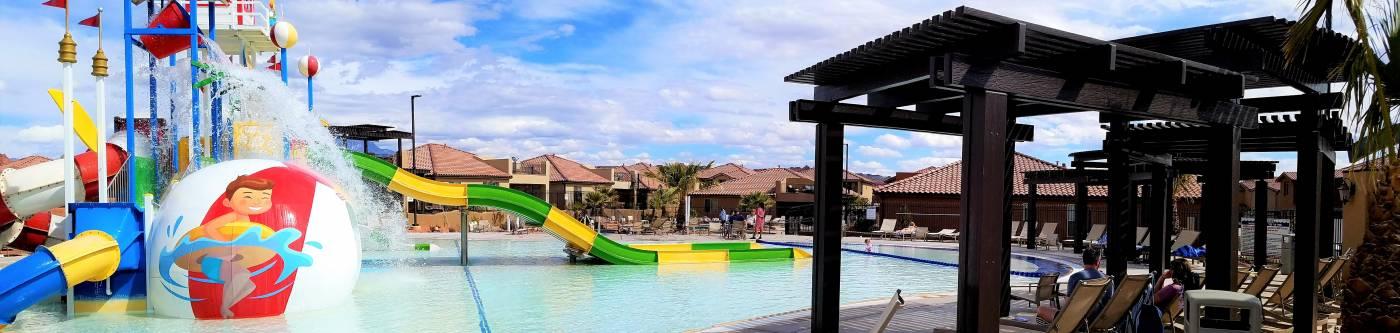 Kid's Cove Water Park at Paradise Village at Zion in Santa Clara, Utah
